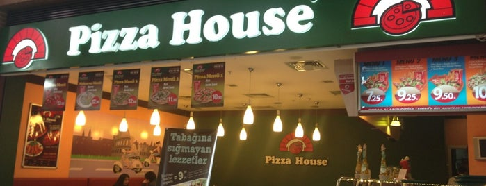 Pizza House is one of Sakinlik.