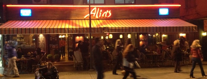 Alins Cafe Restaurant is one of favorim.