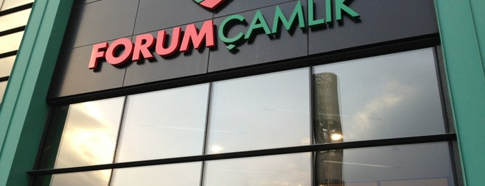 Forum Çamlık is one of themaraton.