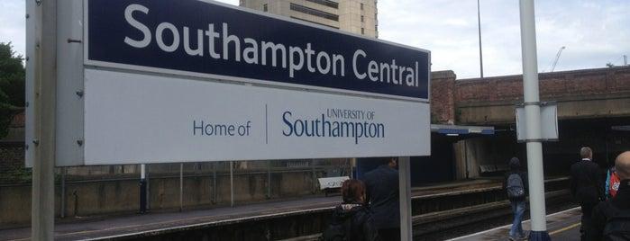 Southampton Central Railway Station (SOU) is one of United Kingdom.