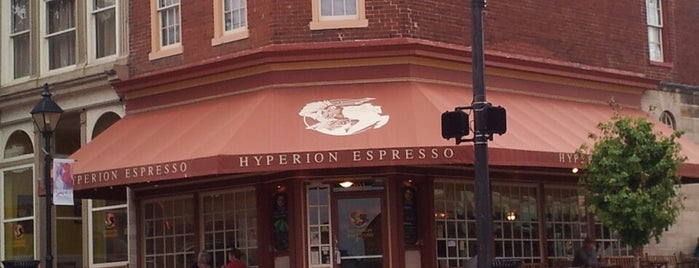 Hyperion Espresso is one of Coffee & Bakeries ☕️🥐.