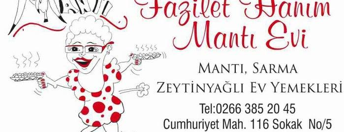 Fazilet Hanım Mantı Evi is one of สถานที่ที่บันทึกไว้ของ Emre.