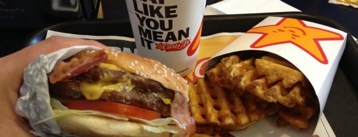 Carl's Jr. is one of Favorites <3.