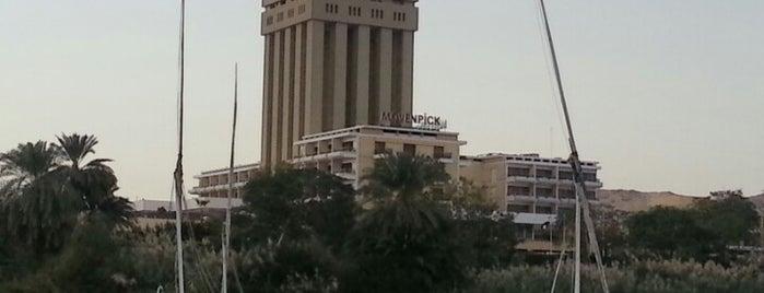Mövenpick Resort Aswan is one of Lieux qui ont plu à Vi.