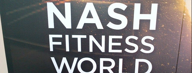 Steve Nash Fitness World is one of Regular stop ins.