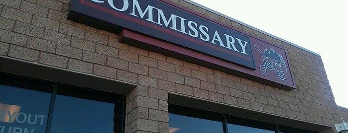 Nellis AFB Commissary is one of Thomas'ın Beğendiği Mekanlar.