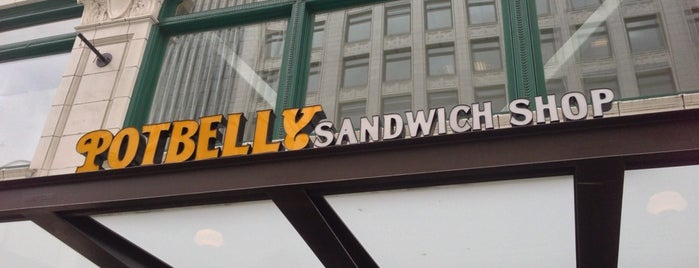 Potbelly Sandwich Shop is one of Seattle Eats.