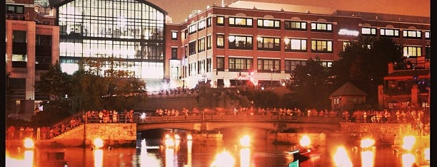 WaterFire - Waterplace Park is one of Providence Goals.