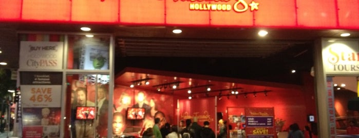 Madame Tussauds Hollywood is one of Cali.
