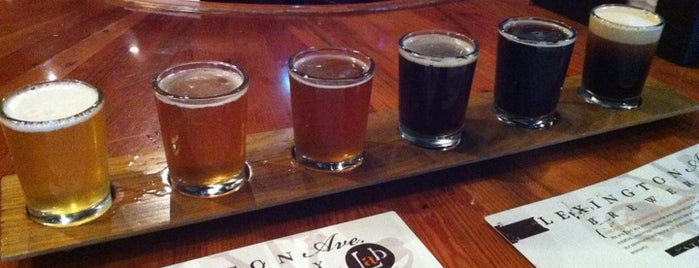 Lexington Avenue Brewery is one of Where to Drink in Asheville.