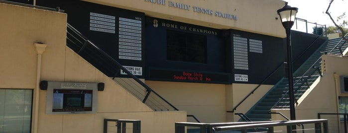 Taube Family Tennis Stadium is one of SF Bay Area - been there I.
