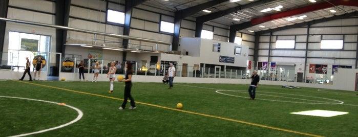 SoccerZone Lakeline is one of Lieux qui ont plu à Josh.