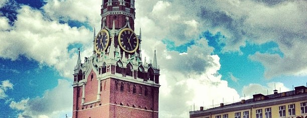 Red Square is one of Moscow.