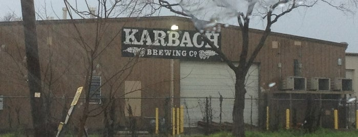 Karbach Brewing Co. is one of When in Houston.