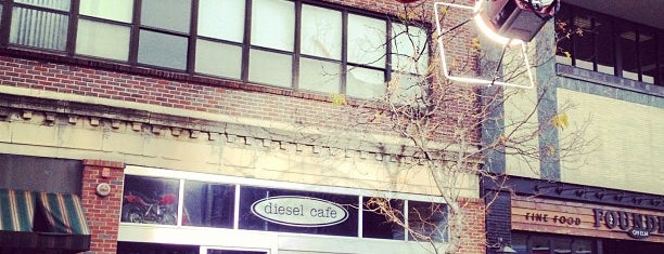 Diesel Café is one of Boston.
