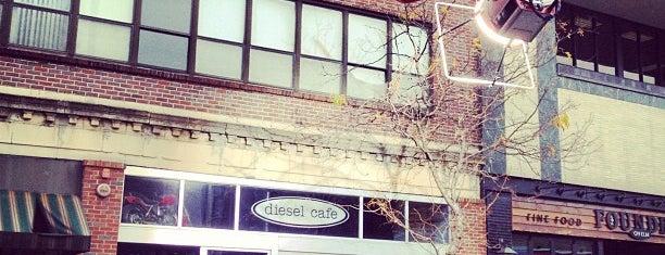 Diesel Café is one of Boston.