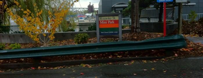 Roanoke Street Mini Park is one of Seattle's 400+ Parks [Part 1].