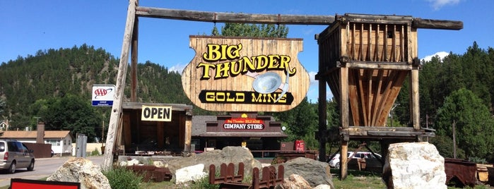Big Thunder Gold Mine is one of South Dakota - Once if by car 2017.