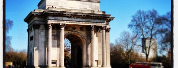 Wellington Arch is one of London Favorites.