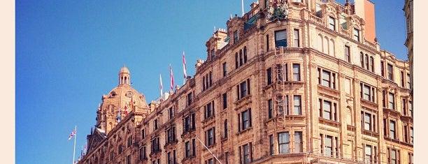 Harrods is one of London Tea Times.