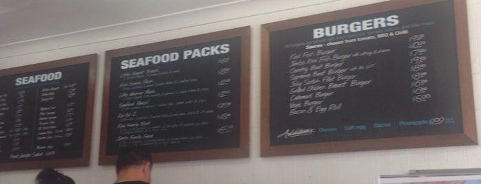 Kiwi Style Fish & Chips is one of Gespeicherte Orte von Simon.