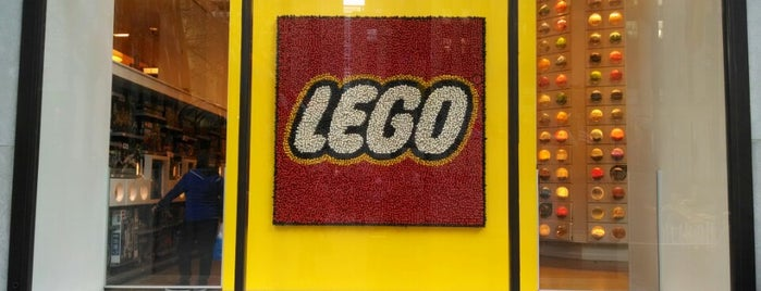 The LEGO Store is one of Concierge Top 10 Places for Children.