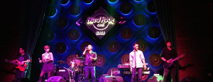 Hard Rock Cafe Bali is one of Club | Bar | Cafe | Nightlife.