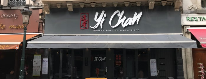 Yi Chan is one of resto Brussels.