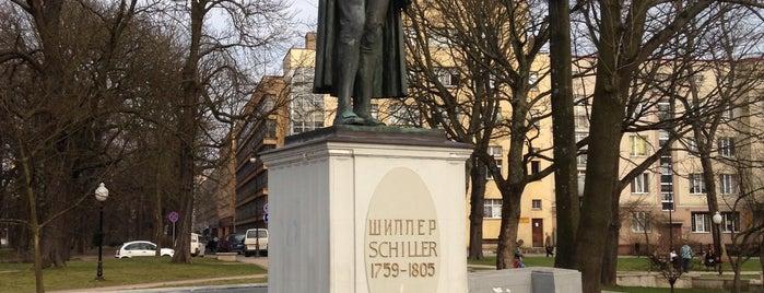 Памятник Шиллеру is one of Денис : понравившиеся места.