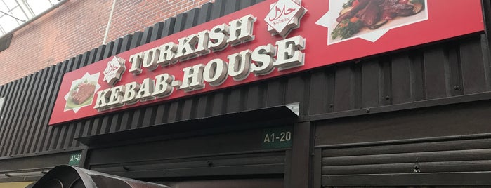 Turkish Kebab-House is one of Tempat yang Disukai Олег.