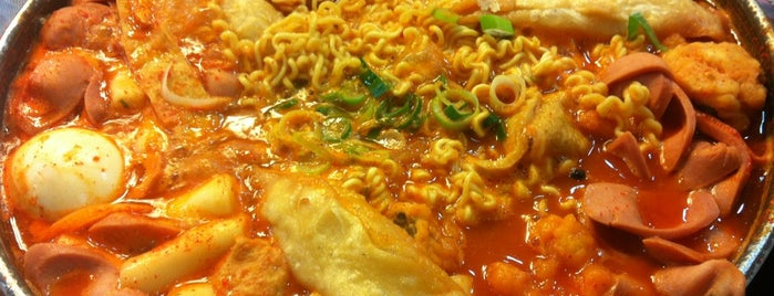 먹쉬돈나 is one of SEOUL tteokbokki.