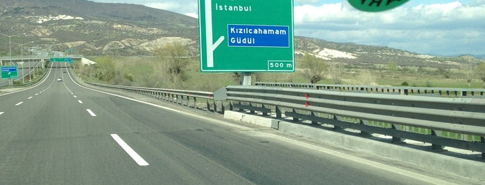 Kızılcahamam Gişeleri is one of Posti che sono piaciuti a HAKAN.