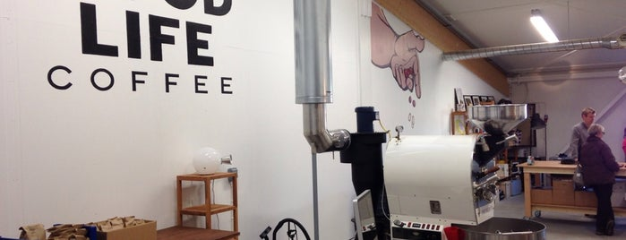 Good Life Coffee Roastery is one of Helsinki, Finland 🇫🇮.