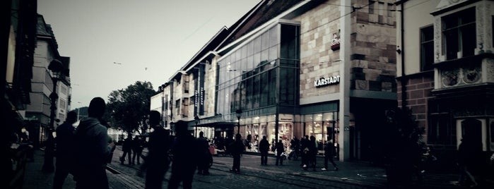 Galeria Karstadt Kaufhof is one of Freiburg 2018.