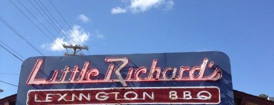 Little Richard's Lexington BBQ is one of Posti salvati di Janell.