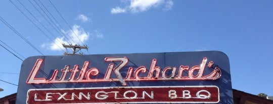 Little Richard's Lexington BBQ is one of สถานที่ที่บันทึกไว้ของ Janell.