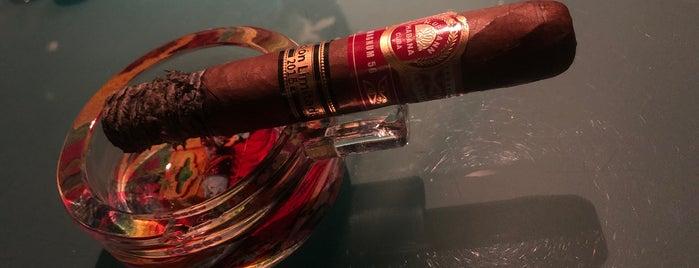 Cigar Lounge - The Globe is one of Riyadh.