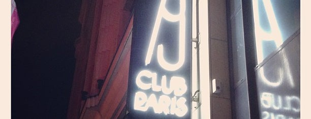Club 79 is one of Paris: husband's hometown ♥.