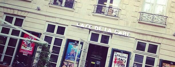 Café de la Gare is one of Paulo'nun Beğendiği Mekanlar.