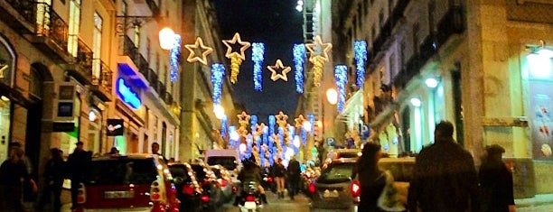 Rua Garrett is one of Portugal.