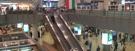 Kuwait International Airport (KWI) is one of Airports (around the world).