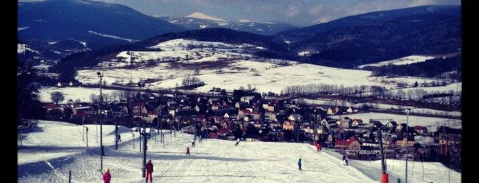 Skipark Mladé Buky is one of MTB v Česku.