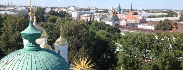 Звонница с церковью Богоматери Печерской is one of Golden Ring.