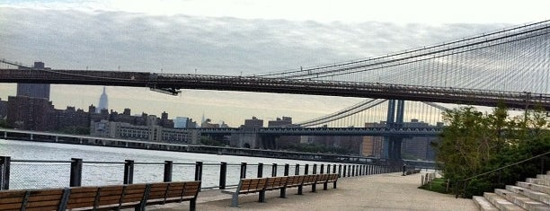 Brooklyn Bridge Park - Pier 1 is one of Locais curtidos por Luis Felipe.
