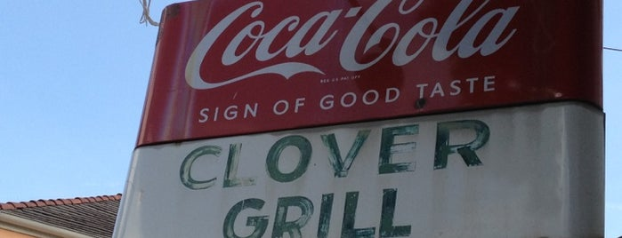 Clover Grill is one of New Orleans Food.