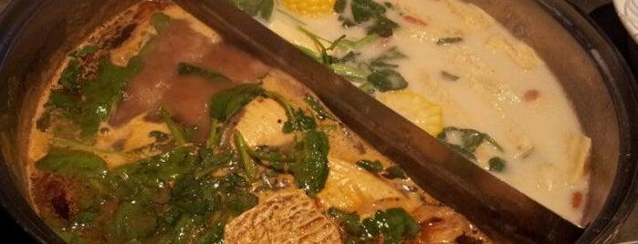天山羊莊小肥羊 Happy Family Hotpot Restaurant is one of Solid Places.