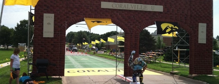 RAGBRAI XXXIX-Coralville is one of Iowa.