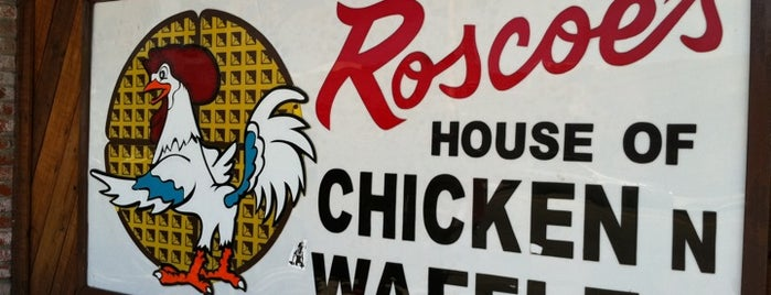Roscoe's House of Chicken and Waffles is one of LA 2015.