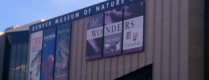 Denver Museum of Nature and Science is one of CO.