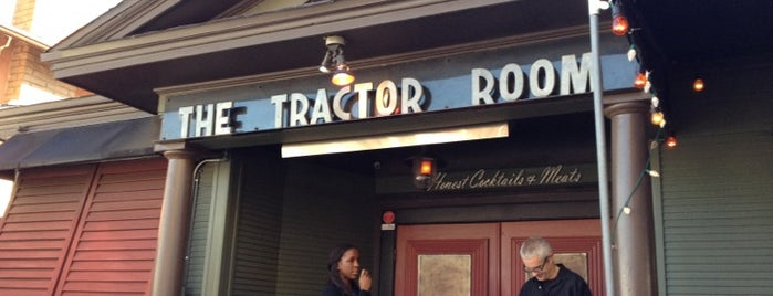 The Tractor Room is one of Orte, die Joey gefallen.